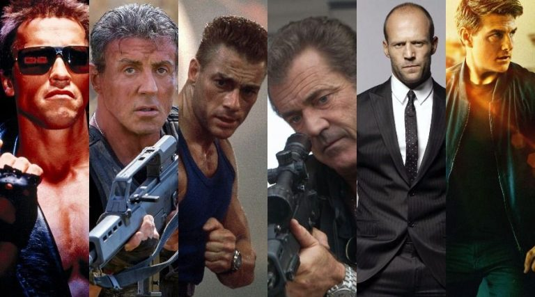 best action stars of all time