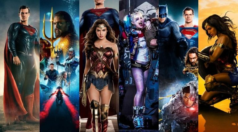 dc extended universe films