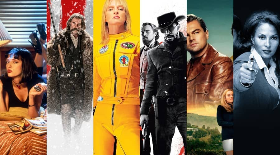 all Quentin Tarantino movies