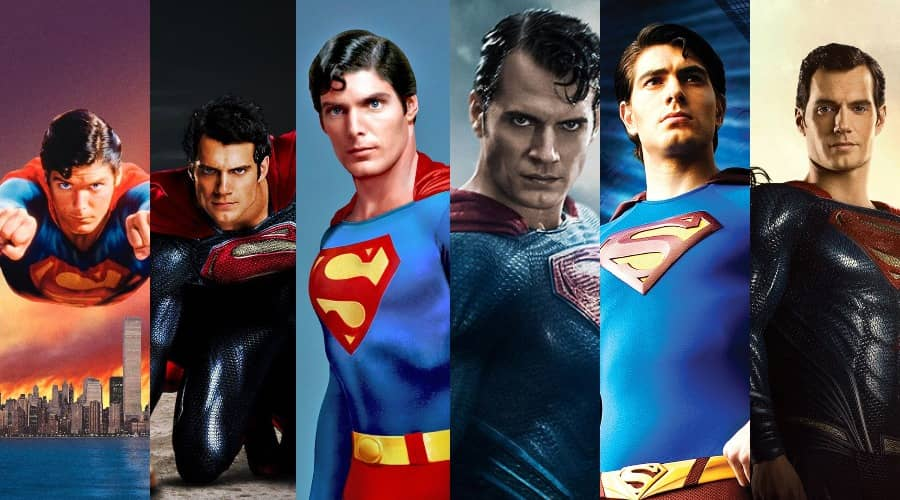all superman movies in order